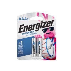 ENERGIZER BAT. ULTIMATE LITHIUM L92BP-2 AAA2 2 X 12(24)