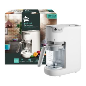 TOMMEE TIPPEE QUICK-COOK BABY FOOD MAKER WH 522226 1 X 2